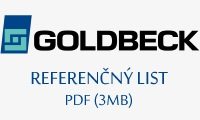 Referenčný list Goldbeck